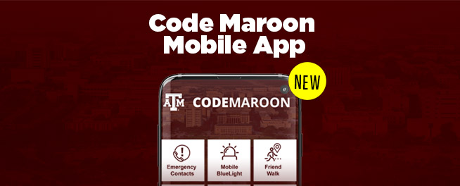 Code Maroon App Launch