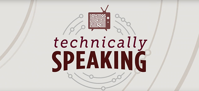 Technically Speaking TV logo
